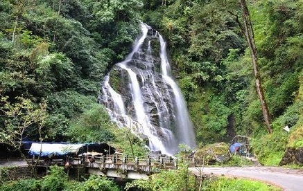bakthang waterfalls gangtok